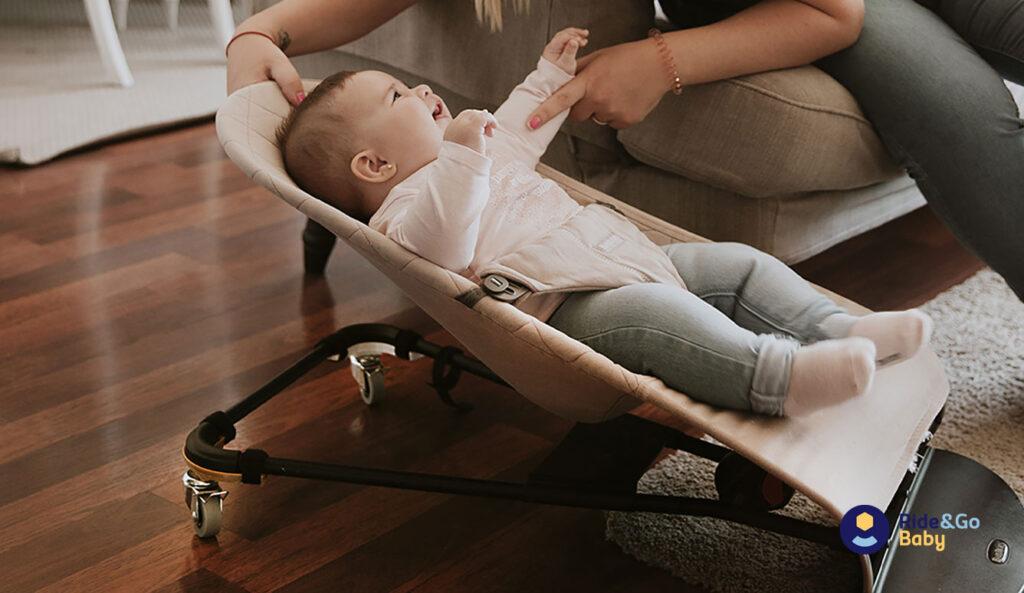 cuanto tiempo puede estar un bebé en una hamaca